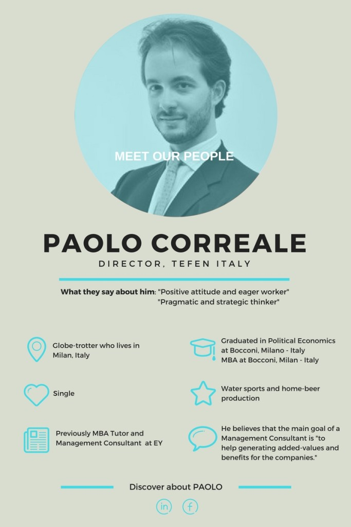 Paolo Correale interview