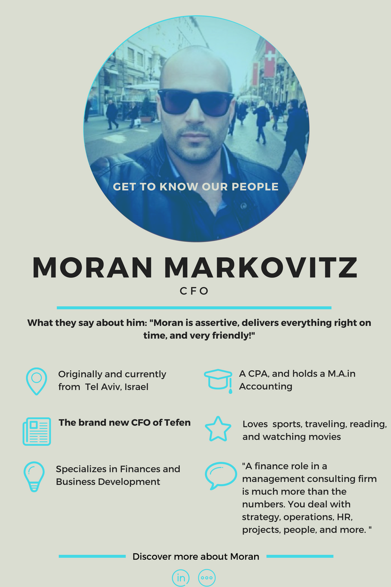 Moran Markovitz - Get to know our consultant
