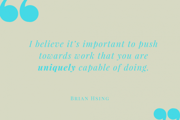 Brian Hsing's quote
