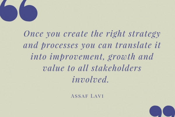 A quote by Assaf Lavi